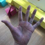 30代女性の手相画像左手