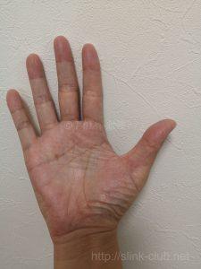 40代男性手のひら画像右手